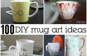 100 awesome diy coffee mug art creations totally the bomb com