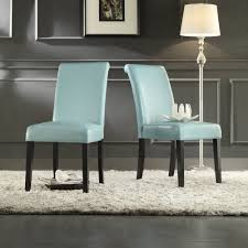 furniture dining room parson chairs with white rug design and