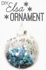 diy frozen ornament easy and project frozen