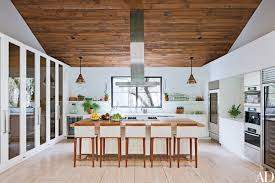 Architectural Digest Kitchens by Fashion Designer Jenni Kayne U0027s 1980s Residence In Beverly Hills