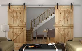Different Types Of Closet Doors Barn Door Hardware Kit 10ft Barn Door Hardware Kit For 2