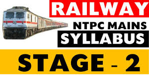 railway ntpc stage 2 syllabus detailed youtube