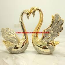 wedding gift ornaments online shop ceramic swan ornaments crafts modern minimalist