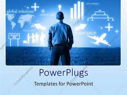 templates powerpoint crystalgraphics powerpoint template globalization business factors power of mind