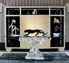 meubles art deco style table salle à manger table haute table de repas de luxe