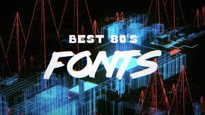 10 best free 80 u0027s fonts hipsthetic