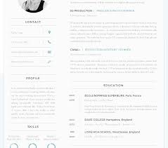 modern resume sles images charming creative resume format free download photos