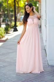 light pink crochet maxi dress pink bridesmaid dress u2013 saved by