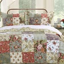 Antique Rose Comforter Set Patchwork Bedding Sets You U0027ll Love Wayfair