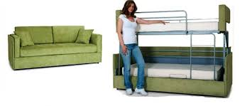 Sofa Bunk Bed Coupe Sofa Turns Into A Comfy Bunk Bed In Just 14 Seconds Homecrux