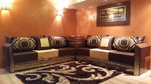 tissu pour canapé marocain photo de salon marocain moderne