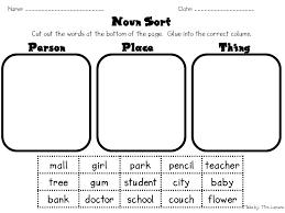 common noun clipart collection