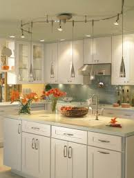 Kitchen Lighting Track Awesome Track Lighting For Kitchen With Pendant Cord Kit