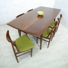 Dining Chair And Table Retro Vintage Teak Mid Century Style Dining Table Eames Era