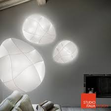 studio italia design millo wall or ceiling light by studio italia design