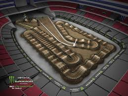 Maps Phoenix Check Out The Track Map For The 2018 Glendale Supercross
