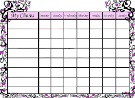 chore list template 25 unique chore chart template ideas on chore