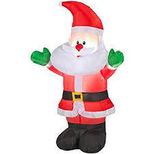 Outdoor Christmas Decorations Santa Claus by Amazon Com Holiday Living Inflatable Airblown Baby Santa Outdoor