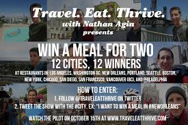 Washington travel contests images Win a meal for two twitter contest travel eat thrive jpg