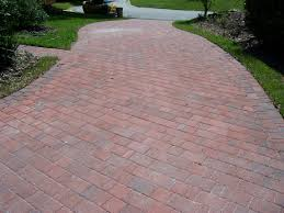 Red Brick Patio Pavers by Paver Patio On A Slope Google Search Landscaping Pinterest