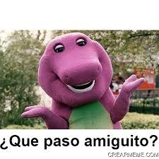 Barney Meme - crear meme genera im磧genes con texto f磧cil y r磧pido