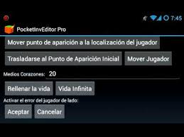 pocket inv editor pro apk pocketinveditor pro 1 9 apk descarga