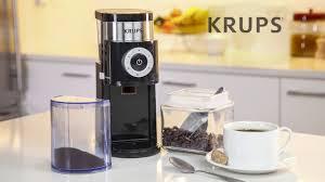 Cuisinart Dbm 8 Coffee Grinder Krups Gx5000 Coffee Grinder Youtube