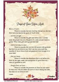 images of meal prayers poster of the grace before meals prayer