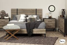 North Shore Bedroom Set Light Wood South Shore Valet Queen Platform Bed U0026 Reviews Wayfair