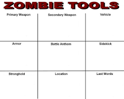 My Zombie Apocalypse Team Meme Creator - zombie tools zombie survival sheet know your meme