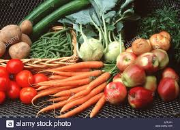 Different Types Of Gardens Different Types Of Garden Fruits And Vegetable Stock Photo