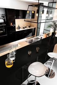Black And White Kitchen Designs From Mobalpa by Contemporary Kitchen Oak Laminate Lacquered Ambiance
