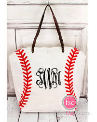 spectacular deal on personalized baseball tote bag baseball