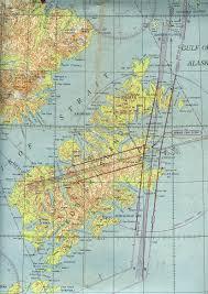 Alaska Air Map Kodiak Alaska Military History Maps