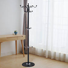 tree branch coat rack brown metal jacket hook clothing hanger hat