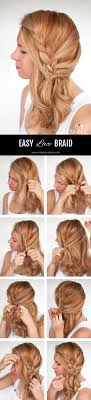 front view of side swept hairstyles easy lace braid the side swept hairstyle tutorial hair romance