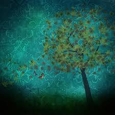 Hintergrundmuster Blau Kostenlose Illustration Textur Hintergrund Muster Baum