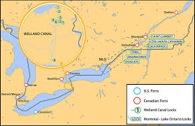 st seaway map marine investigation report m15c0028 transportation safety board