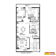 27 Sq Meters To Feet House Plan For 30 Feet By 60 Feet Plot Plot Size 200 Square Yards