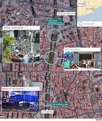 Live Attack Map Spain Attacks Terror Timeline Bbc News