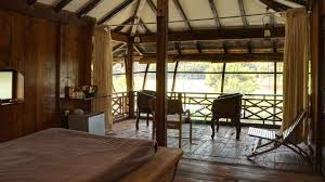 water front wooden cottage sankalp bhumi