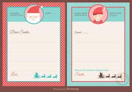 santa letters free santa letters design vector free vector stock
