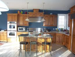 kitchen paint colors with oak cabinets trust your gut or ask the expert blue kitchen walls