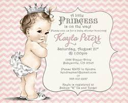 Virtual Baby Shower Invitations Baby Shower Invitation Chevron Princess For Pink And