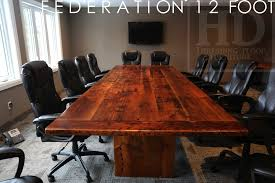 Unique Conference Tables Large Guelph Boardroom Table Modern U0026 Reclaimed Juxtaposition Blog