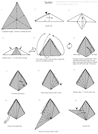 how to make an origami jumping spider