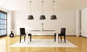 minimalist dining sets modern white clear glass bubbles ceiling