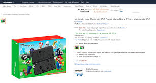 amazon black friday kotaku there u0027s a cracking deal on the new nintendo 3ds right now kotaku