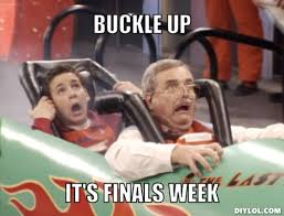 Good Luck On Finals Meme - good luck on finals mcb advising program s blog