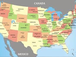 Florida Cities Map Usa Canada Map Cities Usa Canada Map Cities Us Canada Map Cities